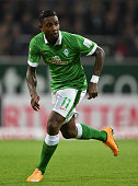 BREMEN GERMANY NOVEMBER Eljero Elia of Bremen in action during the Bundesliga match between SV Werder Bremen and VfB Stuttgart at Weserstadion on...