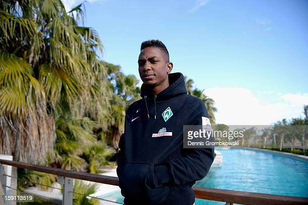 Eljero Elia of Bremen poses during day four of the Werder Bremen Training Camp on January 8 2013 in Belek Turkey