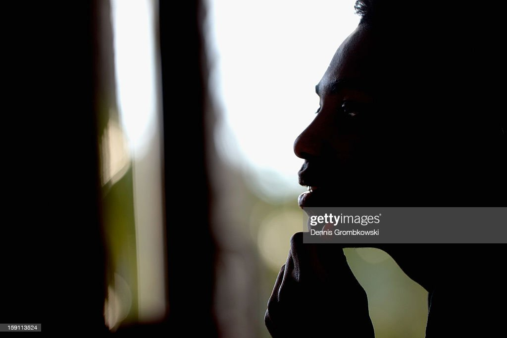 <a gi-track='captionPersonalityLinkClicked' href=/galleries/search?phrase=Eljero+Elia&family=editorial&specificpeople=2199495 ng-click='$event.stopPropagation()'>Eljero Elia</a> of Bremen reacts during a media talk at day four of the Werder Bremen Training Camp on January 8, 2013 in Belek, Turkey.