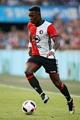 Eljero Elia of Feyenoord during the preseason friendly match between Feyenoord and Valencia on July 23 2016 at the Kuip in Rotterdam The Netherlands