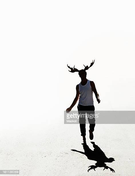 Elk man walking