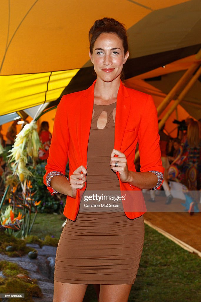 Elka Whalan attends the Camilla show during Mercedes-Benz Fashion Week Australia Spring/Summer 2013/14 at Centennial Park on April 10, 2013 in Sydney, Australia.