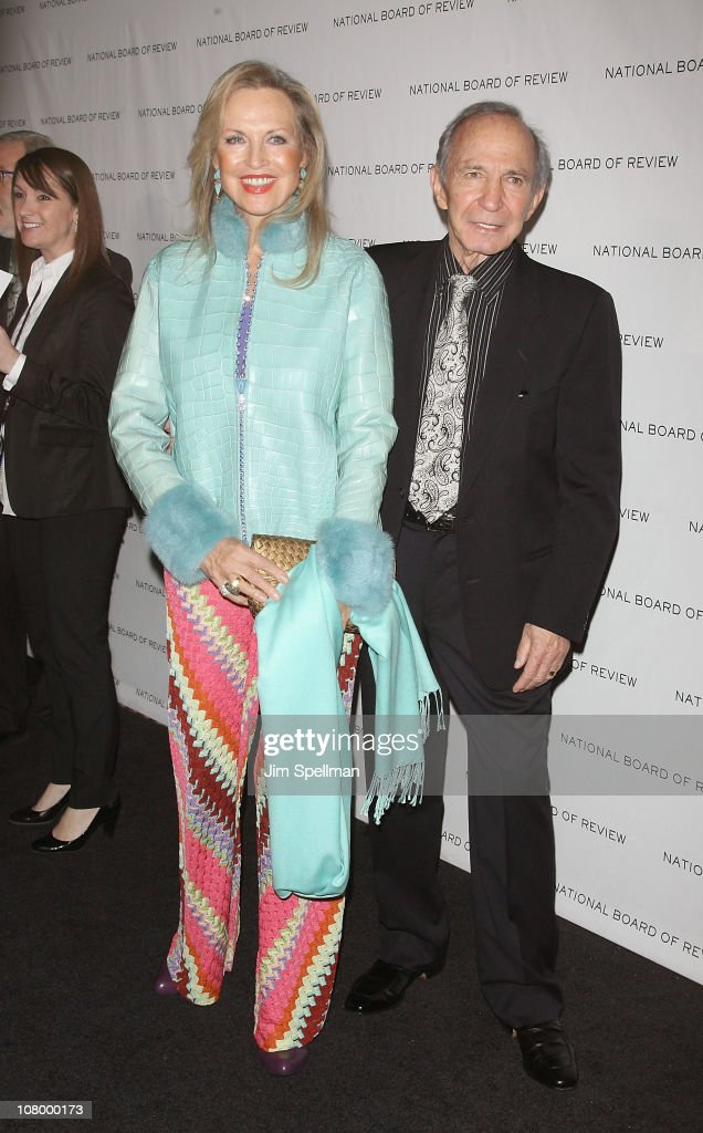 Elke Gazzara and actor Ben Gazzara attends the 2011 National Board of Review of Motion Pictures Gala at Cipriani 42nd Street on January 11, 2011 in New York City.