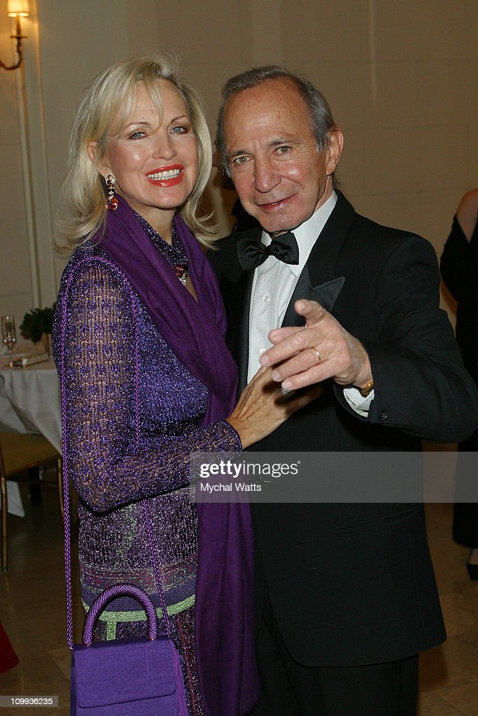 Elke Gazzara and Ben Gazzara during The Food Allergy Initiative at The Plaza Hotel in New York, New York, United States.