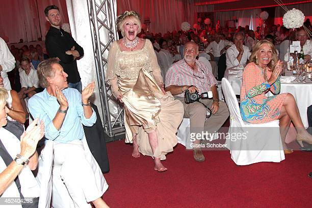 Elke Sommer attends the Kaiser Cup 2014 Gala on July 19 2014 in Bad Griesbach near Passau Germany