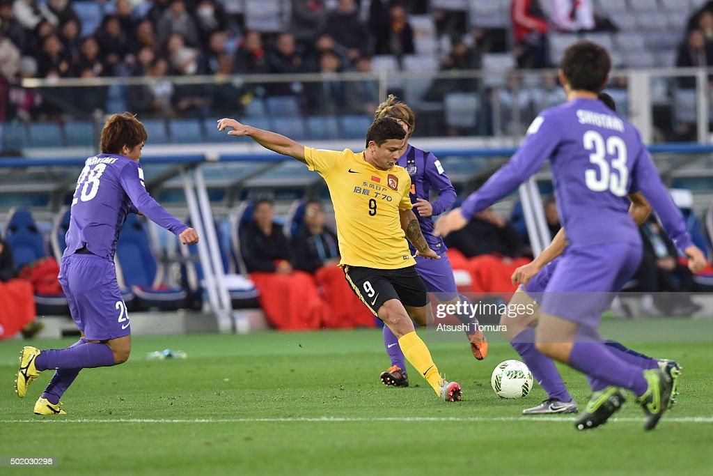 Sanfrecce Hiroshima v Guangzhou Evergrande FC - FIFA Club World Cup 3rd Place Match