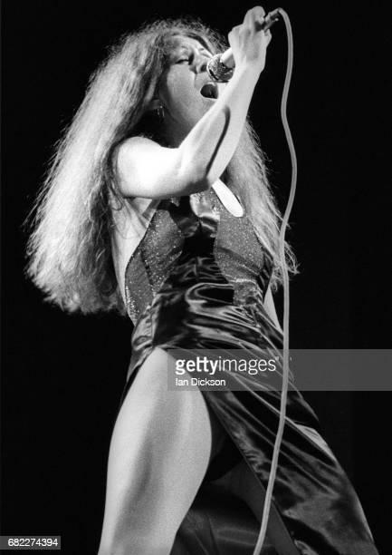 Elkie Brooks of Vinegar Joe performing on stage at City Hall NewcastleuponTyne United Kingdom 08 Feb 1973
