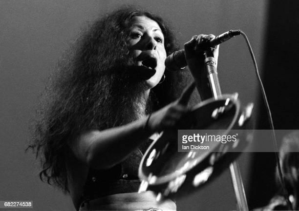 Elkie Brooks of Vinegar Joe performing on stage at London Music Festival Alexandra Palace London 04 Aug 1973