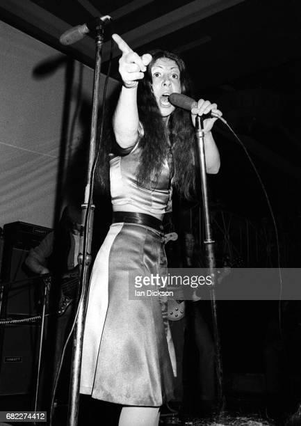 Elkie Brooks of Vinegar Joe performing on stage at Mayfair Ballroom NewcastleuponTyne United Kingdom 18 Aug 1972