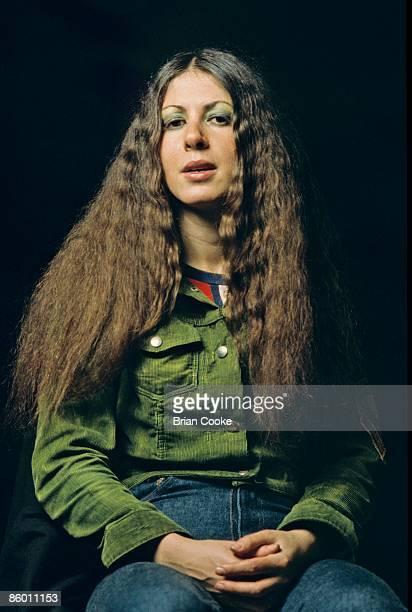 Elkie Brooks of Vinegar Joe studio photo taken in London in October 1971