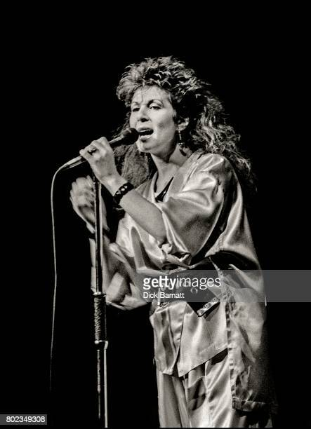 Elkie Brooks performing on stage The Dominion Theatre London 10th December 1978