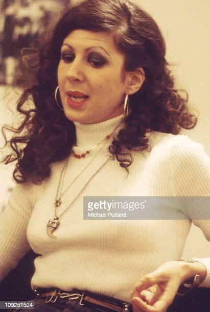 Elkie Brooks portrait London March 1974