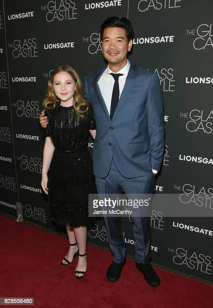 Ella Anderson and writer Destin Daniel attend 'The Glass Castle' New York Screening at SVA Theatre on August 9 2017 in New York City
