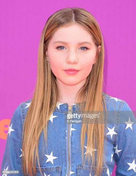 Ella Anderson attends Nickelodeon Kids' Choice Sports Awards 2017 at Pauley Pavilion on July 13 2017 in Los Angeles California
