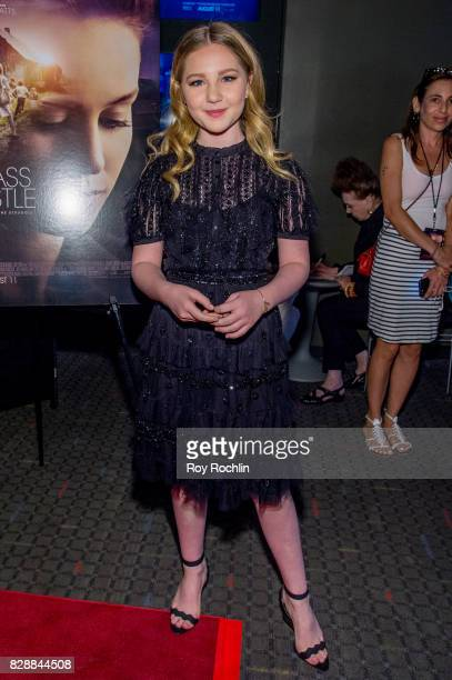 Ella Anderson attends 'The Glass Castle' New York screening at SVA Theatre on August 9 2017 in New York City