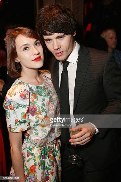 Ella Catliff and Leon Else attends the DKNY Esquire magazine party during the London Collections Men SS15 on June 15 2014 in London England