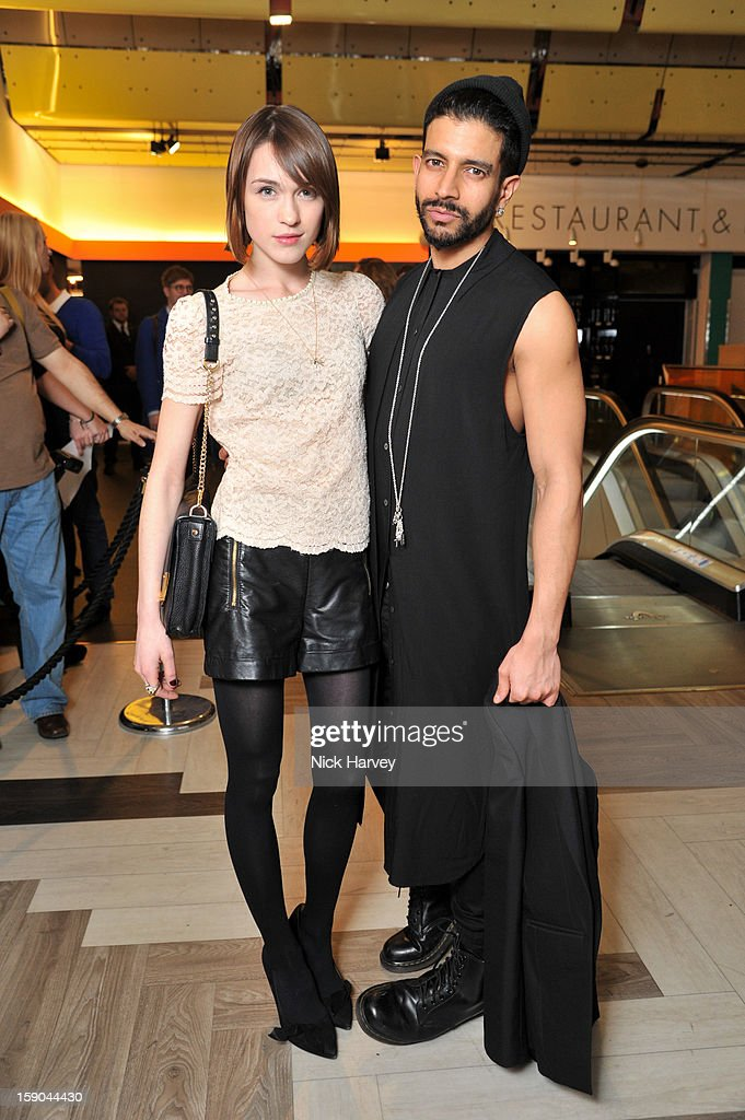 Ella Catliff and Nikthakkar attend the launch of 1205 Paula Gerbase Hosted By Harvey Nichols ahead of the London Collections: MEN AW13 at on January 6, 2013 in London, England.