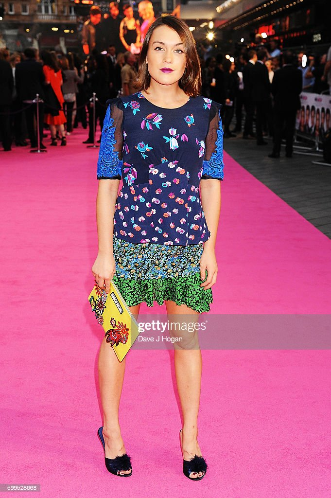 Ella Catliff arrives for the world premiere of 'Bridget Jones's Baby' at Odeon Leicester Square on September 5, 2016 in London, England.