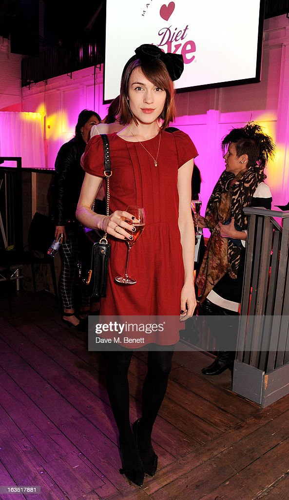 Ella Catliff attends a party celebrating 30 years of Diet Coke and announcing designer Marc Jacobs as Creative Director for Diet Coke in 2013 at the German Gymnasium Kings Cross on March 11, 2013 in London, England.