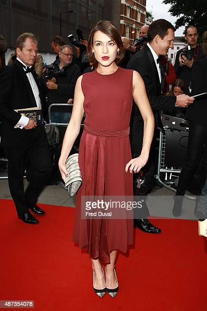 Ella Catliff attends the GQ Men Of The Year Awards at The Royal Opera House on September 8 2015 in London England