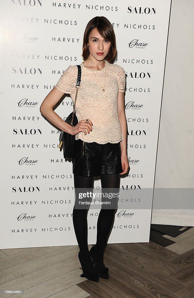 Ella Catliff attends the launch of 1205 Paula Gerbase Hosted By Harvey Nichols ahead of the London Collections: MEN AW13 at on January 6, 2013 in London, England.