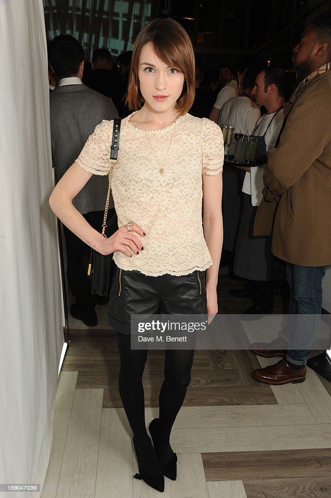 Ella Catliff attends the launch of 1205 Paula Gerbase hosted by Harvey Nichols on January 6, 2013 in London Engand.