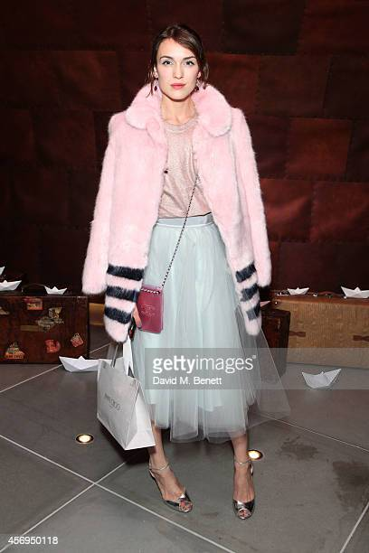 Ella Catliff attends the launch party as Mondrian London opens its doors on London's South Bank at Mondrian Hotel on October 9 2014 in London England
