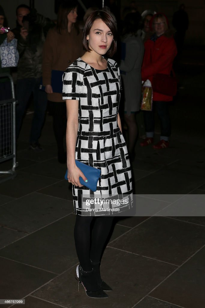 Ella Catliffe attends the VIP private view of David Bailey: Bailey's Stardust at National Portrait Gallery on February 3, 2014 in London, England.