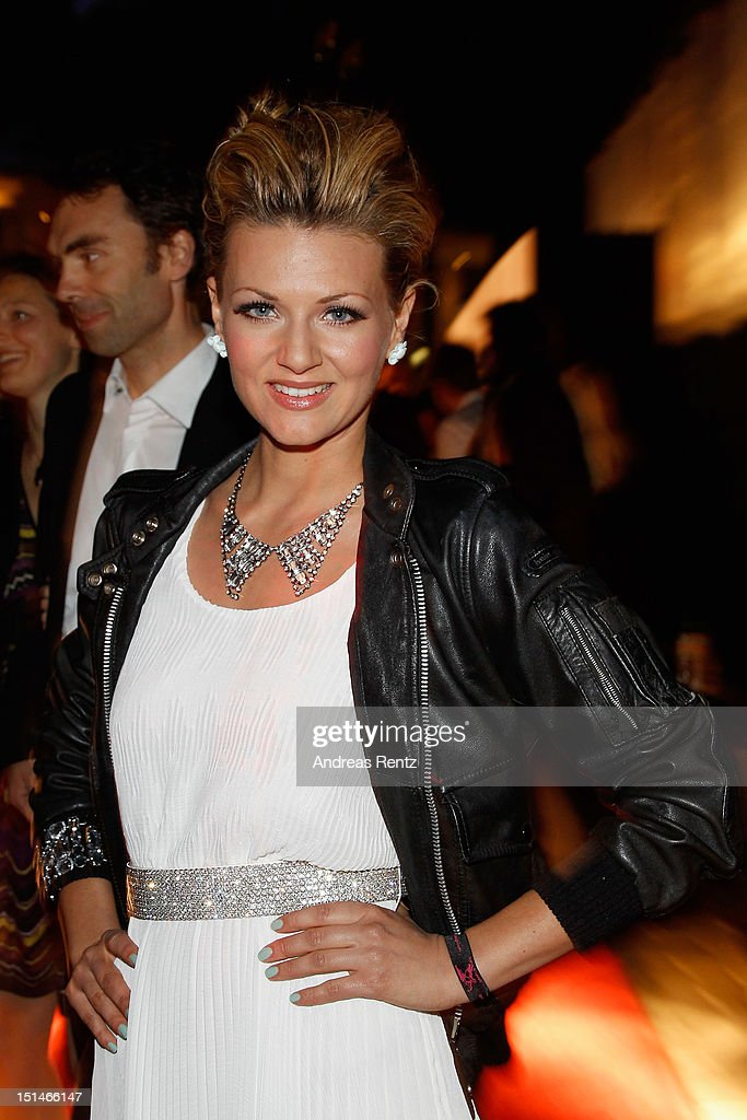 Ella Endlich attends the Music meets Media party on September 7, 2012 in Berlin, Germany.