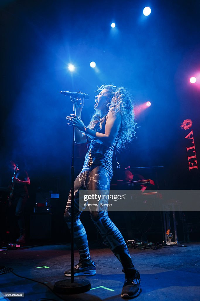 <a gi-track='captionPersonalityLinkClicked' href=/galleries/search?phrase=Ella+Eyre&family=editorial&specificpeople=10634685 ng-click='$event.stopPropagation()'>Ella Eyre</a> performs on stage at O2 Academy during Live At Leeds music festival on May 3, 2014 in Leeds, United Kingdom.