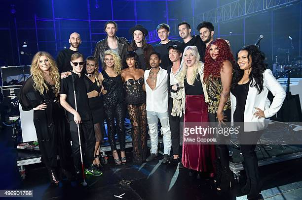 Ella Henderson Casey Harris Rachel Platten Tori Kelly Mel B Miguel Nate Ruess Elle King Sandra Denton and Cheryl James Sam Harris Hozier James Bay...