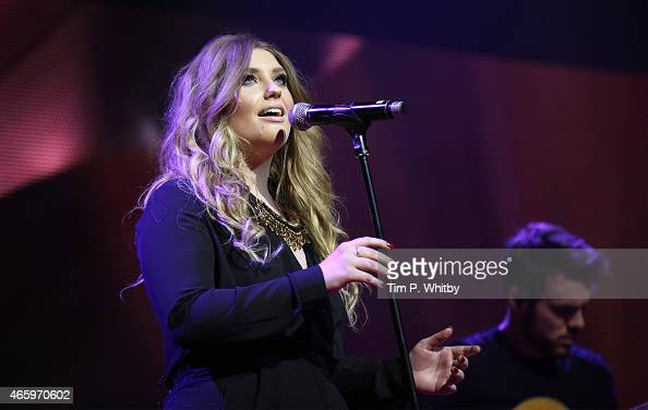 Ella Henderson performs at The Prince's Trust Celebrate Success Awards at Odeon Leicester Square on March 12 2015 in London England