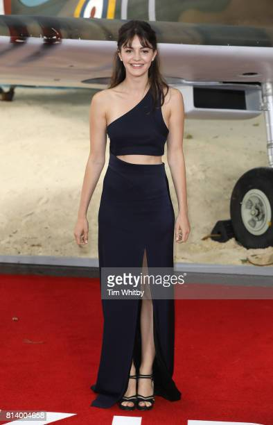 Ella Hunt attends the 'Dunkirk' World Premiere at Odeon Leicester Square on July 13 2017 in London England