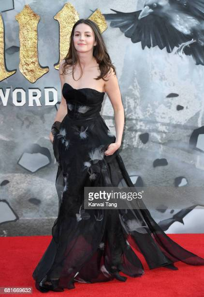 Ella Hunt attends the European premiere of 'King Arthur Legend of the Sword' at Cineworld Empire on May 10 2017 in London United Kingdom