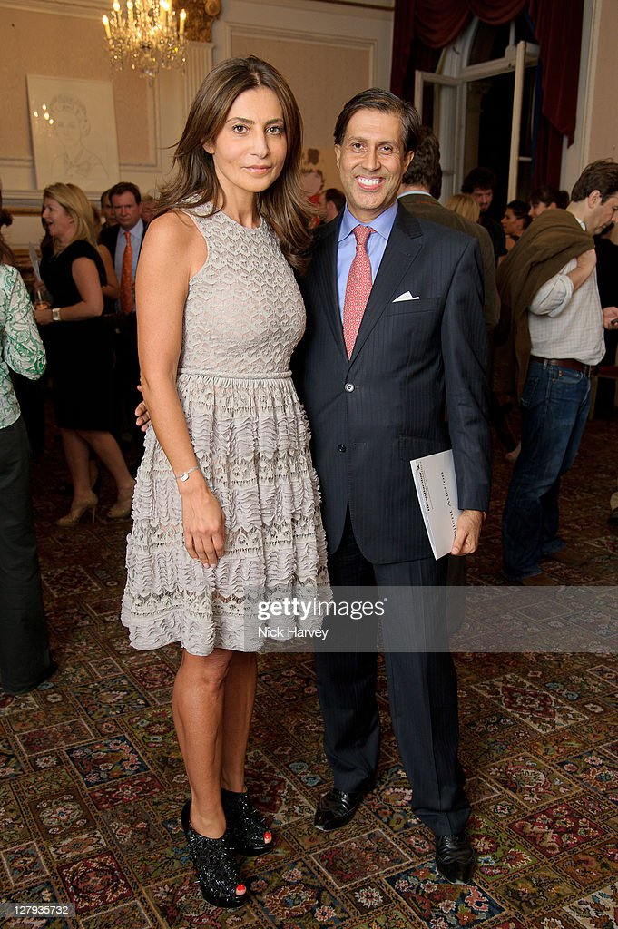 <a gi-track='captionPersonalityLinkClicked' href=/galleries/search?phrase=Ella+Krasner&family=editorial&specificpeople=2347640 ng-click='$event.stopPropagation()'>Ella Krasner</a> and Alexander Barani attend the fundraising event to benefit The Helen Bamber Foundation at Bonhams on October 3, 2011 in London, England.