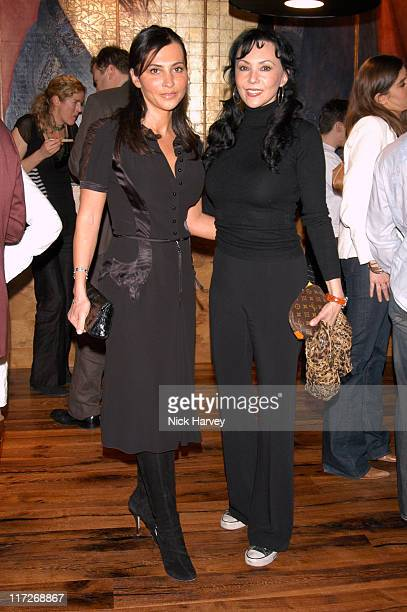 Ella Krasner and Marie Helvin during Pengelley's Restaurant Bar Launch Party at Pengelley's Restaurant Ba in London Great Britain