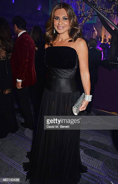 Ella Krasner attends Lisa Tchenguiz's 50th birthday party at the Troxy on January 24 2015 in London England