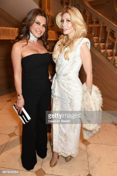 Ella Krasner attends Lisa Tchenguiz's party hosted by Fatima Maleki in Mayfair on March 24 2017 in London England