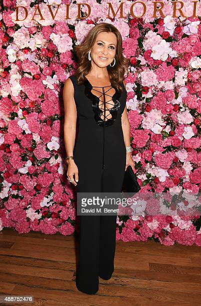 Ella Krasner attends the David Morris Ai Weiwei exhibition gala preview at the Royal Academy of Arts on September 17 2015 in London England