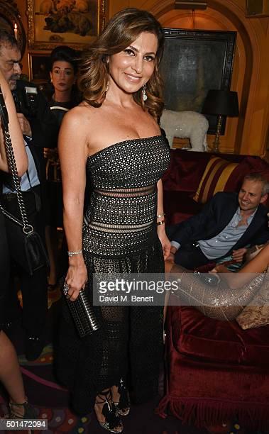 Ella Krasner attends the David Morris and Agent Provocateur drinks reception hosted by Jeremy Morris and Lisa Tchenguiz at Annabel's on December 15...