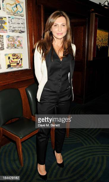 Ella Krasner attends the launch of The Krasner Fund for the BFI at The Ivy on October 19 2012 in London England