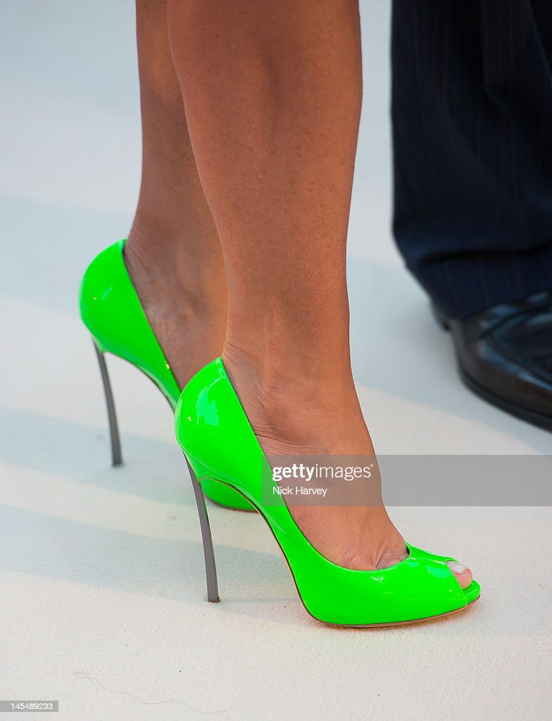 <a gi-track='captionPersonalityLinkClicked' href=/galleries/search?phrase=Ella+Krasner&family=editorial&specificpeople=2347640 ng-click='$event.stopPropagation()'>Ella Krasner</a> (shoes detail) attends the private VIP view of Royal Academy Summer Exhibition 2012 at Royal Academy of Arts on May 30, 2012 in London, England.