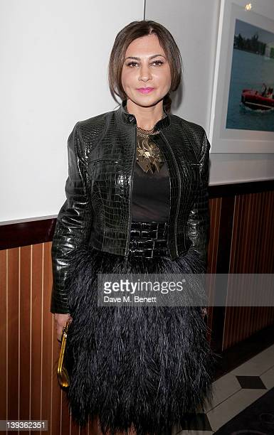 Ella Krasner attends the Vivienne Westwood aftershow dinner at Kitchen Joel Antunes at Embassy Mayfair during London Fashion Week Autumn/Winter 2012...