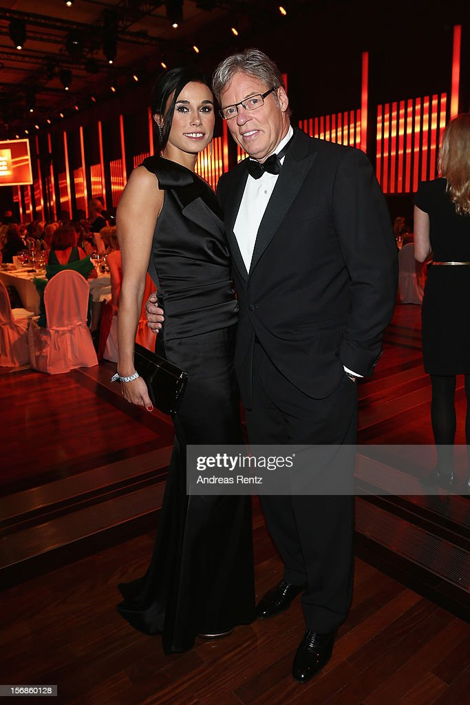 Ella Mayer and Heiner Kamps attend the 'BAMBI Awards 2012' show at the Stadthalle Duesseldorf on November 22, 2012 in Duesseldorf, Germany.