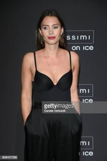 Ella Mills attends Intimissimi On ice 2017 on October 6 2017 in Verona Italy