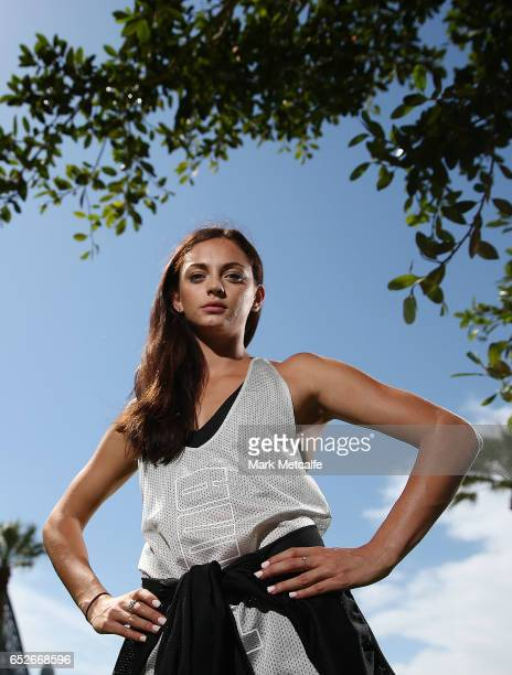 Ella Nelson poses during the Australian Athletics Championships Launch on March 13 2017 in Sydney Australia
