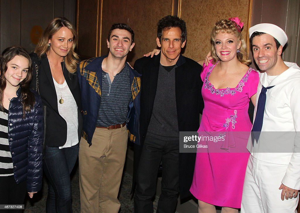 Ella Olivia Stiller mother Christine Taylor Season 11 Winner from 'So You Think You Can Dance' Ricky Ubeda Ben Stiller Elizabeth Stanley and Clyde...