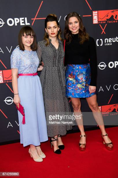 Ella Rumpf and guests attend the New Faces Award Film at Haus Ungarn on April 27 2017 in Berlin Germany