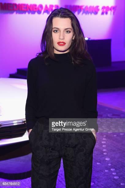 Ella Rumpf attends the Medienboard BerlinBrandenburg Reception during the 67th Berlinale International Film Festival Berlin at on February 11 2017 in...