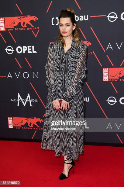 Ella Rumpf attends the New Faces Award Film at Haus Ungarn on April 27 2017 in Berlin Germany